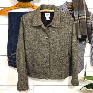 GAP Wool Waist Length Jacket